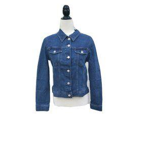 J.Crew Denim Women's Jacket In Tyler Med Ocean S